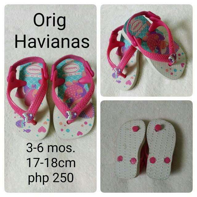 havaianas infant slipper