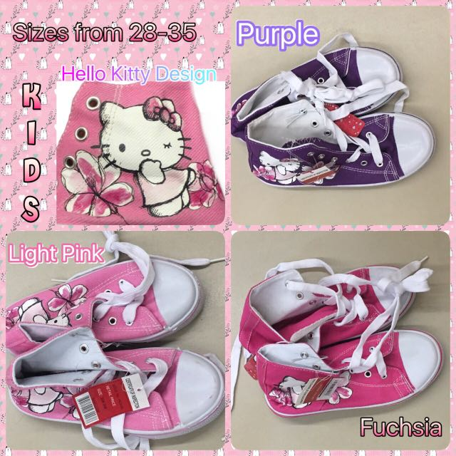 Hello Kitty Kids Highcut Shoes