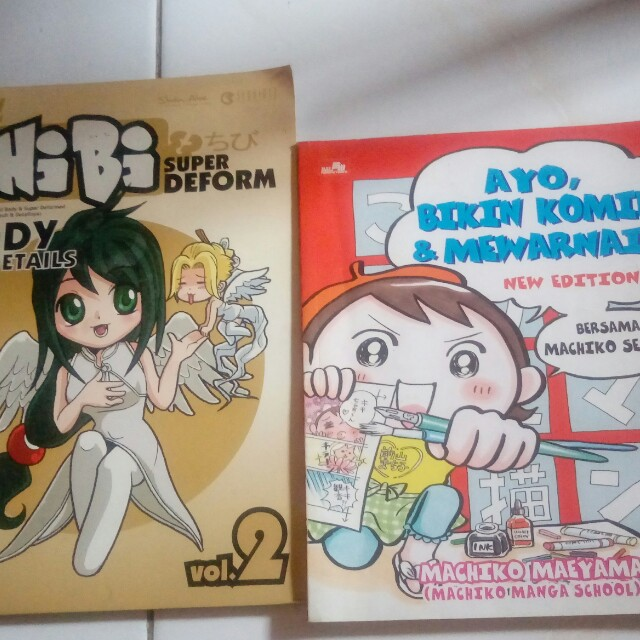 How To Draw Ayo Bikin Komik Mewarnai Bersama Machilo Sensei Books