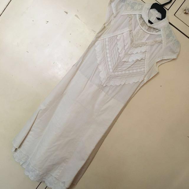 Iora Cream Dress