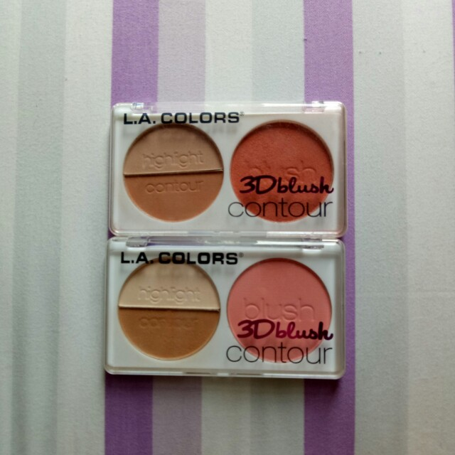 la colour 3D blush contour