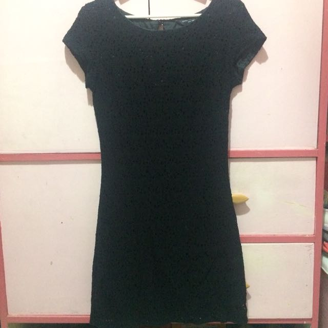 Laced little black dress (Dorothy Perkins)