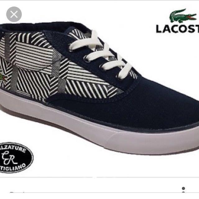 Lacoste bellevue midcut shoes