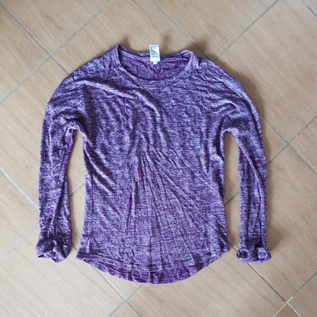 Lavender Pullover
