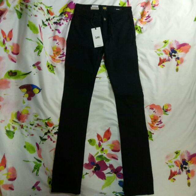 Lee Black Skinny Jeans