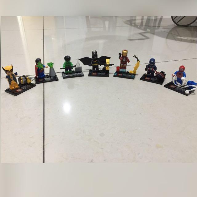 Lego Superhero Minifigures