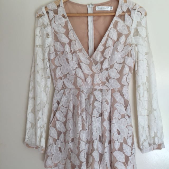 Lily Whyt lace play suit