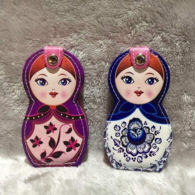 Matryoshka Doll Manicure Pedicure Set and Nail Care Tools