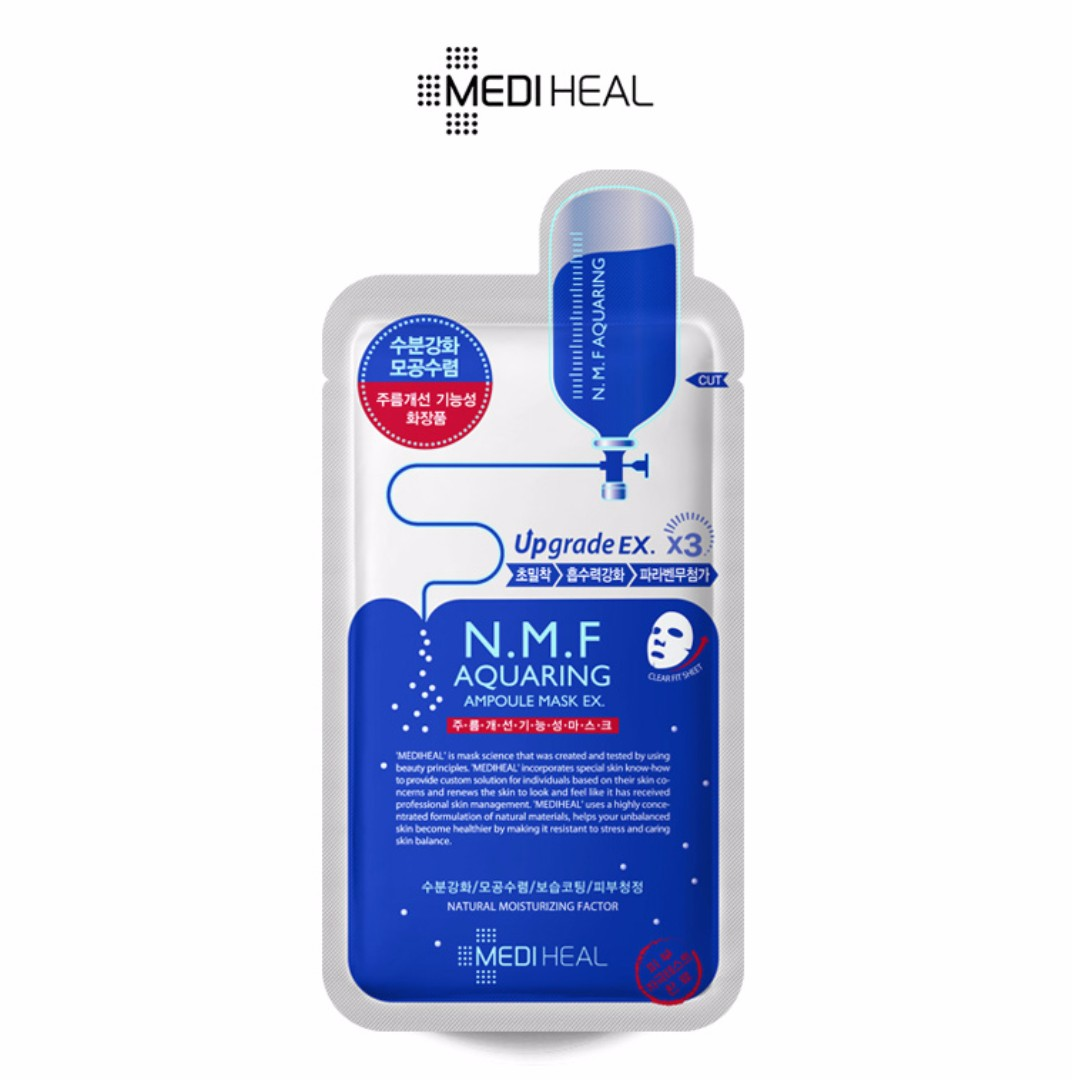 Mediheal - NMF Aquaring Ampoule Mask Ex (10 pcs)