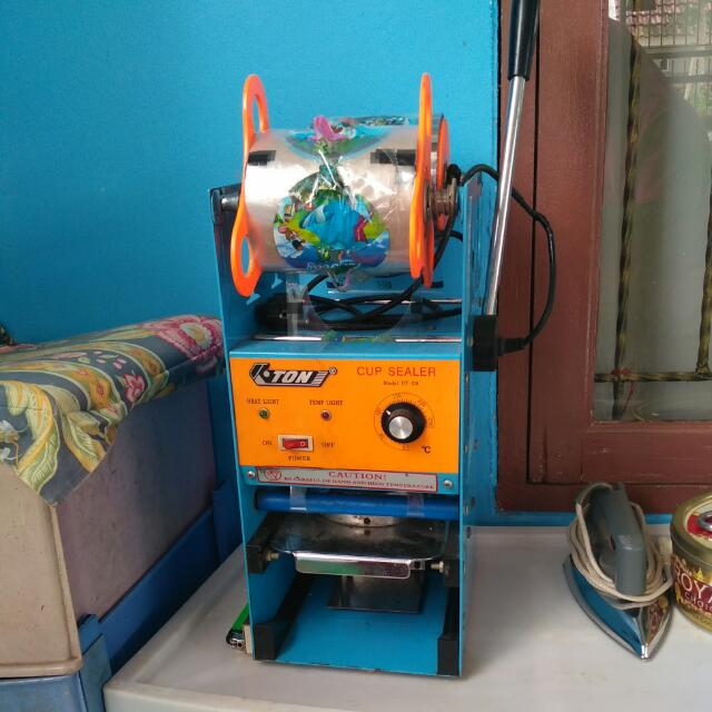 mesin pres untuk pop ice, dll