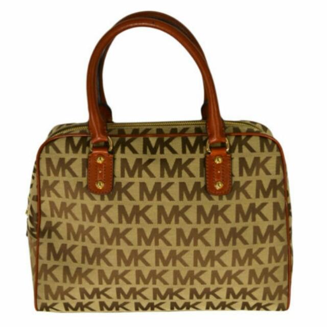 e1ab8d93ae Michael Kors Handbag Purse Mk Signature Large Satchel 38s2xmks3j ...
