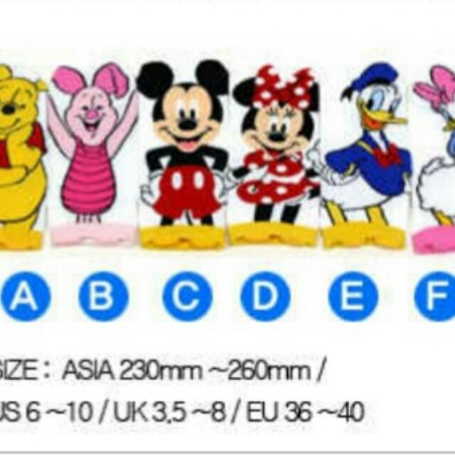 Mickey and friends Korean Socks