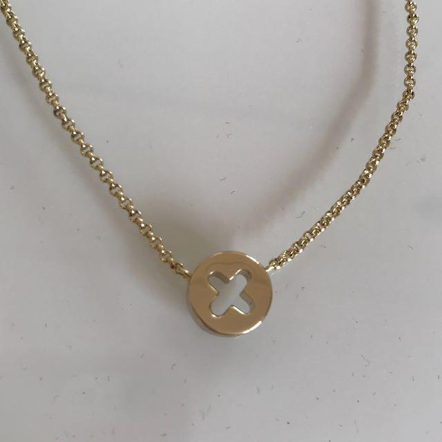 Mimco™ Gold X Necklace