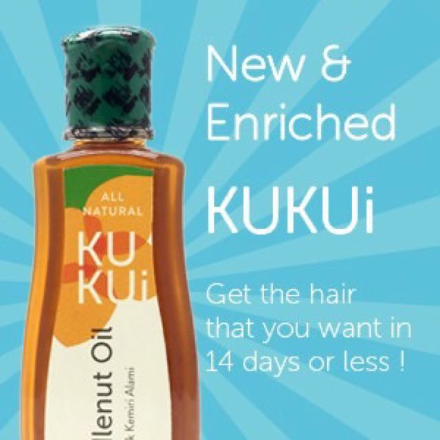 minyak kemiri kukui, kesehatan & kecantikan, perawatan rambut di Gambar Minyak Kemiri Kukui
