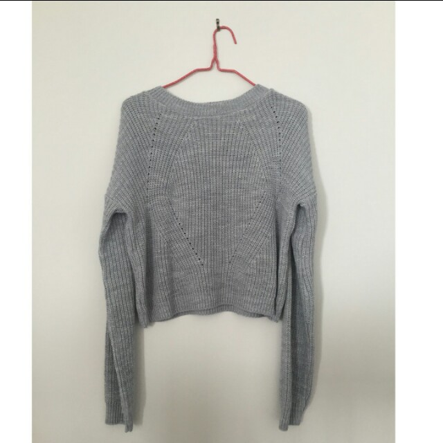 Missguided Grey Knit