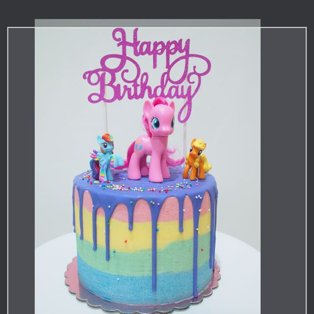 My Little Pony Cake Food Drinks Baked Goods On Carousell