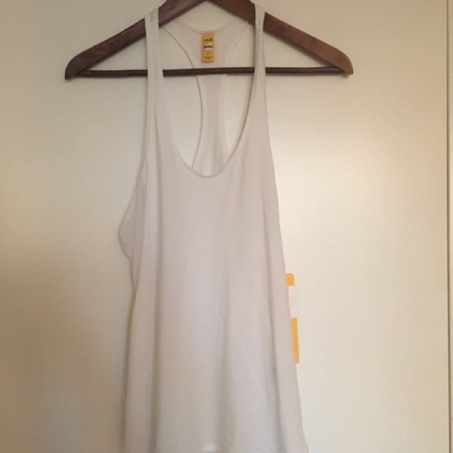 NEW W/TAGS-Lole ladies workout tank, white, size S