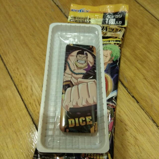 One Piece Dice Long Can Badge