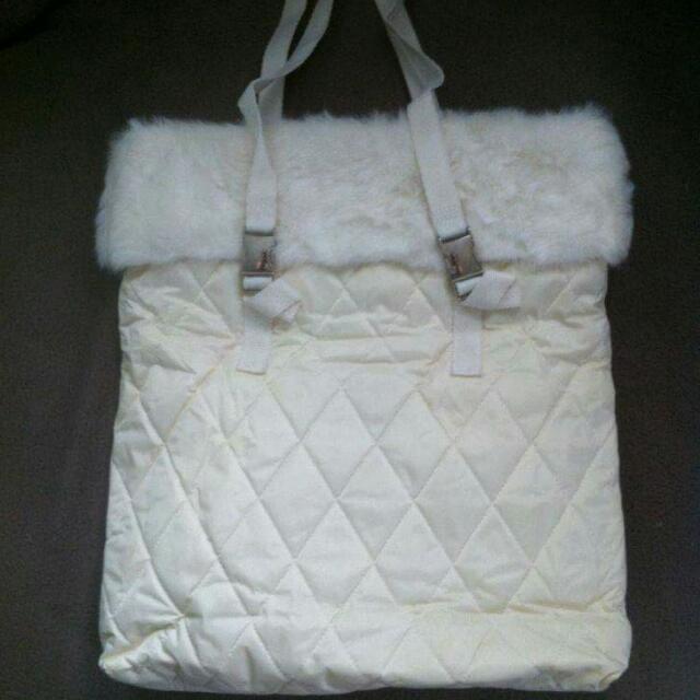 Repriced - Original B&BW White Bag