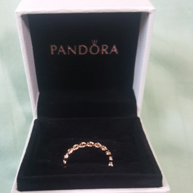 ca1f28dc9 Pandora Rose Linked Love Ring, Luxury, Accessories on Carousell