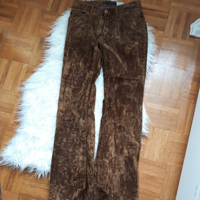 PARAAUCO BROWN SUEDE SIZE 27