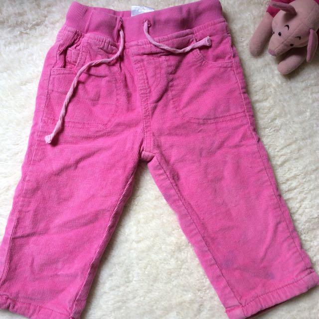 Pink soft pants
