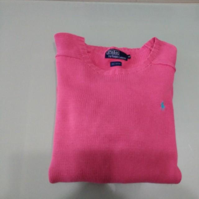 Polo純棉針織衫