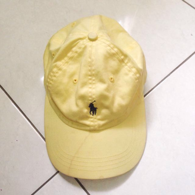 Polo Original Cap Soft Baby Yellow
