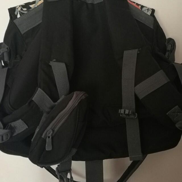 Preloved nappy bagpack