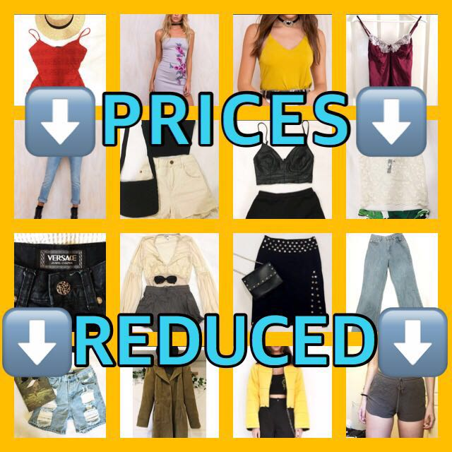 PRICES HAVE BEEN REDUCED