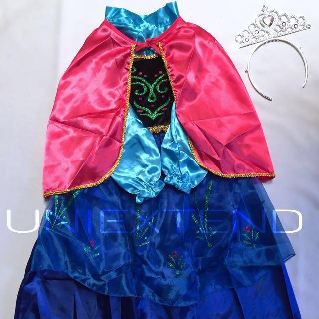 Princess Anna kids Costume