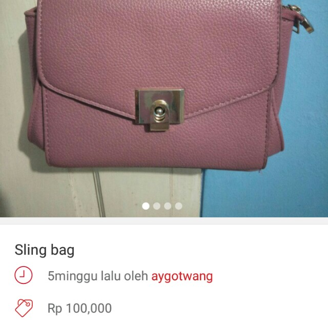 PROMO 2 TAS SLING BAG ONLY 200K!! GESER PICT
