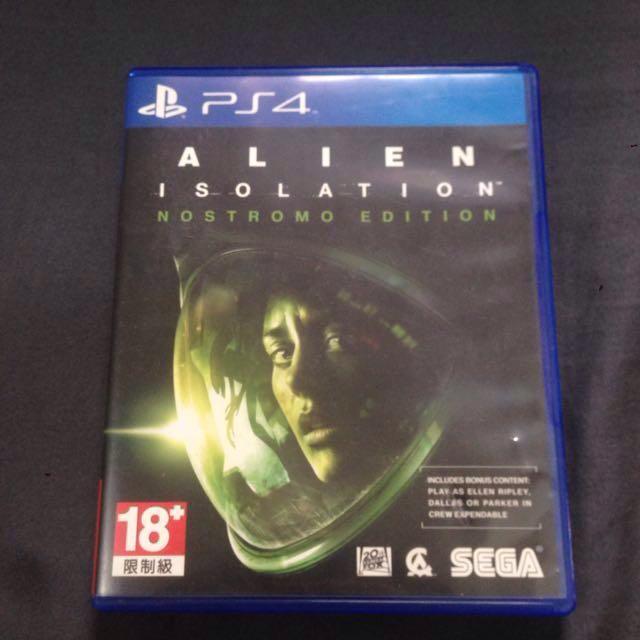 alien isolation ps4 deals