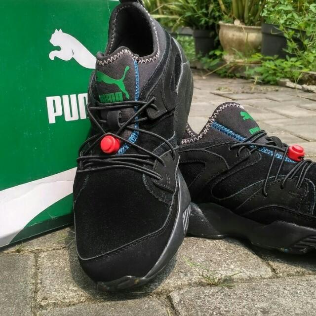 098e9cd6f3d91 Puma Blaze Of Glory Soft Flag BLACK, Men's Fashion, Men's Footwear ...