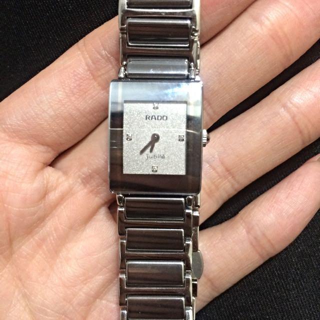 正品RADO 鑽錶