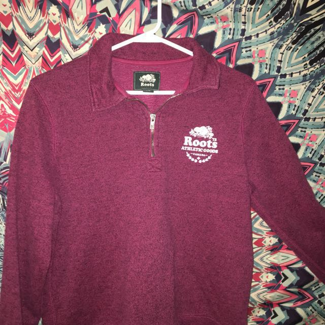 (REDUCED PRICING) Large Red Roots Sweater