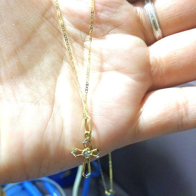 Repriced 18K Saudigold necklace
