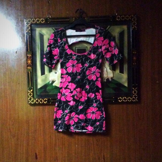 REPRICED Floral Dress