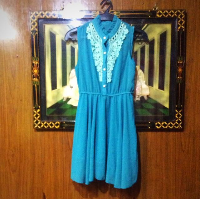 REPRICED Green Casual Dress
