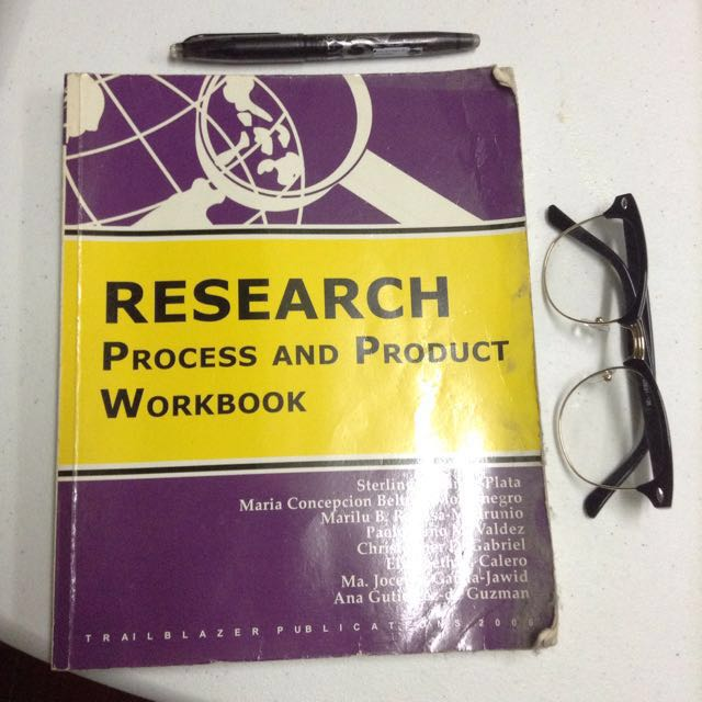 Research: Process And Product Workbook