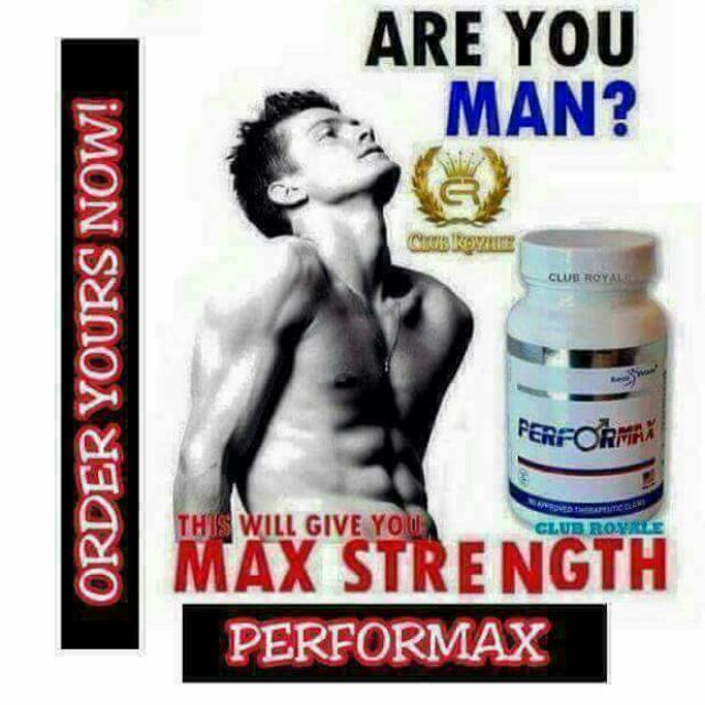 ROYALE PERFORMAX for MEN ( Made In USA/ HALAL), Health