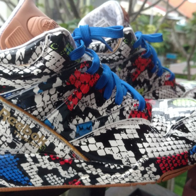 38ce293be1f Sepatu Basket Sneakers Reebok Pump Melody Ehsani not Air Jordan Lebron Kobe  Shaq