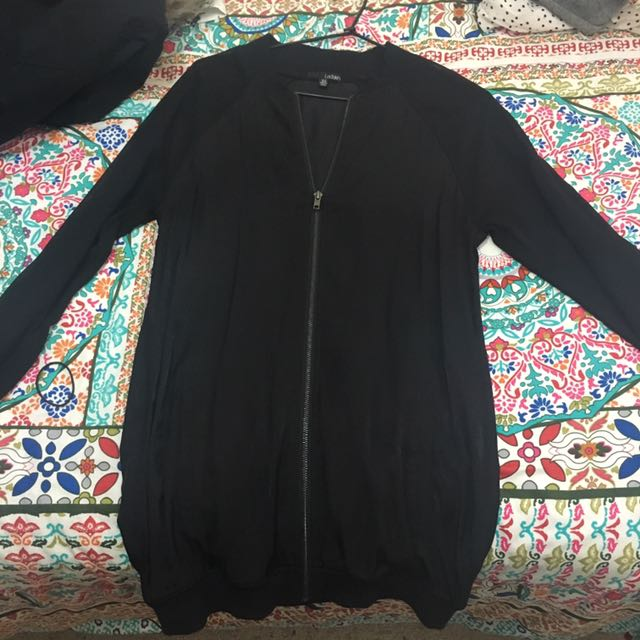 Sheer women's light jacket