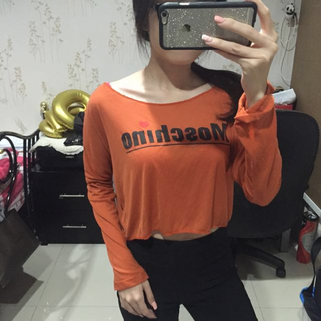 Sisterly Moschino Crop Top