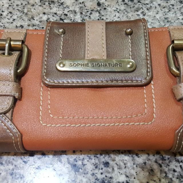 Sophie brown wallet