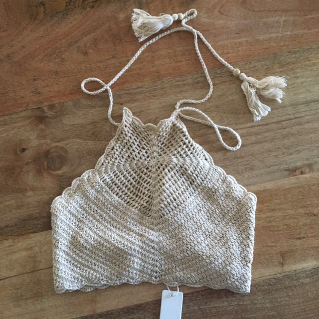 Spell Crochet Halter Top