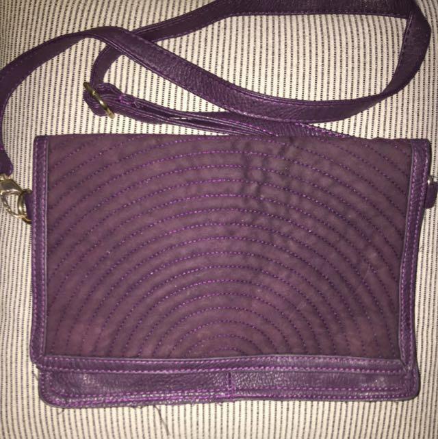 Sportsgirl Large Clutch Bag