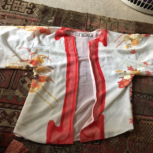 Sunny Girl Open Kimono Top