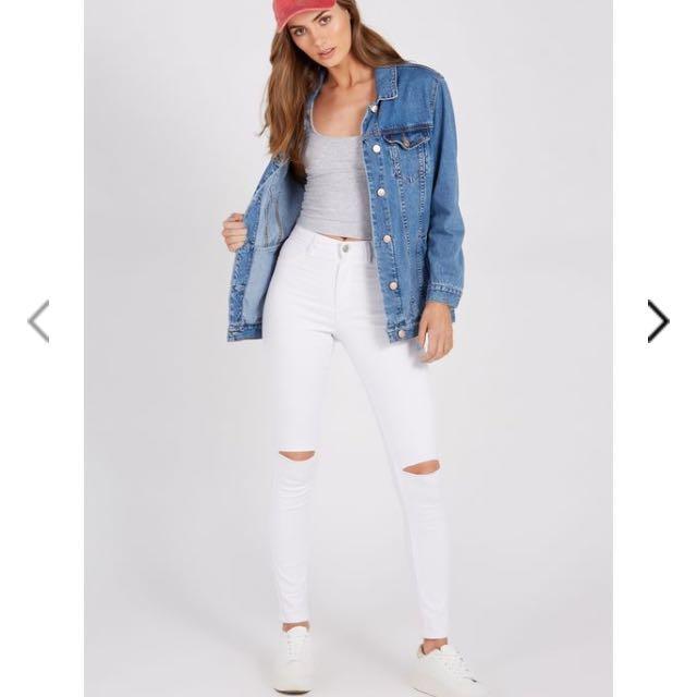 Supre white jeans
