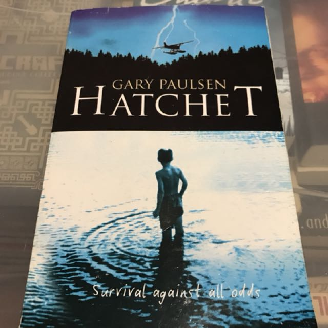 The Hatchet by Gary Paulsen